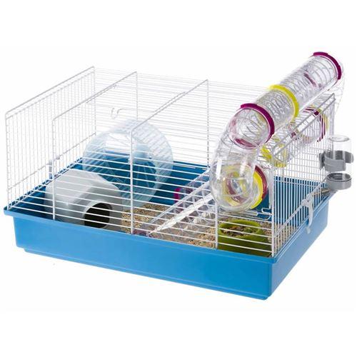 Ferplast Cage pour hamsters Paula Bleu 46x29,5x24,5 cm 57906411