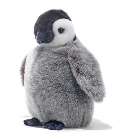 Peluche bébé pingouin Benjamin 27 cm