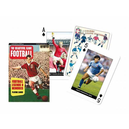 PIATNIK Jeu de 55 cartes FOOTBALL Multicolore