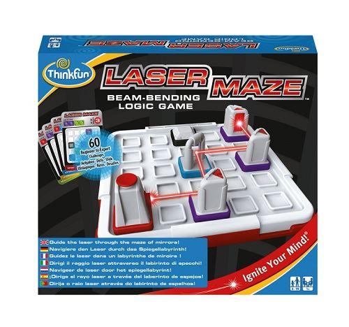 Laser maze 8-99 ans - jeu de logique 60 defis 4 niveaux