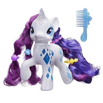 my little pony grand poney rarity 19 cm licorne magique mon petit poney achat prix fnac - Poney Licorne