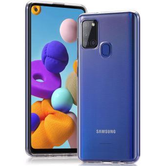 Coque Samsung Galaxy A21S Souple Transparente flexible Bumper en Gel TPU Silicone Invisible Antichoc New Galaxy A21S - Accessoires Pochette Case