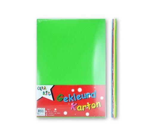 Crea-Kit carton de couleur A4 120 gr 100 feuilles
