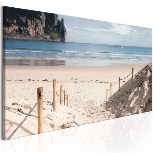 Tableau - beach path - artgeist - 135x45