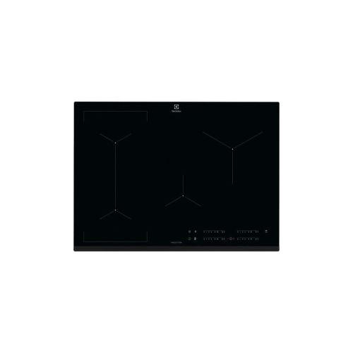 Electrolux EIV734 - Table de cuisson à induction - 4 plaques de cuisson - Niche - largeur : 68 cm - profondeur : 49 cm - noir - avec avant biseauté