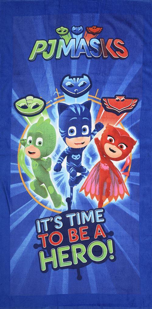 PJ Masks serviette de bain It's Time To Be A Hero junior 70 x 140 cm