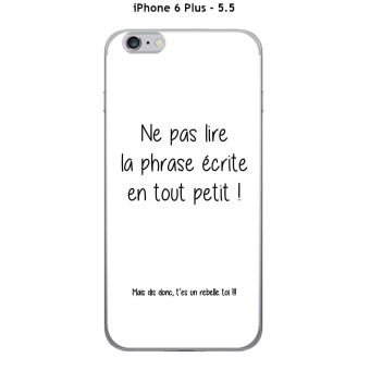 coque texte iphone 6