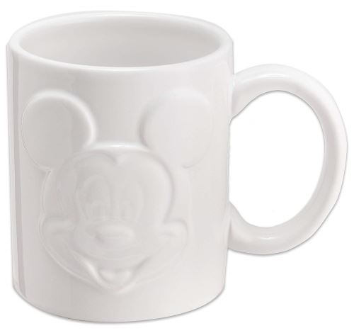 Joy Toy 62140 Mickey Mouse Relieftasse 320 Ml, Blanc