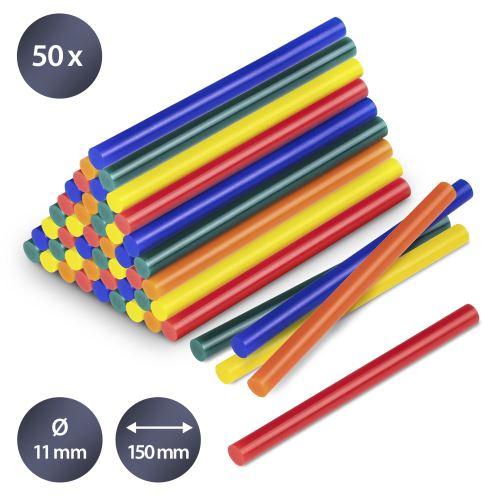 TROTEC Bâtonnets de colle de couleur (50 pces ø 11 mm)