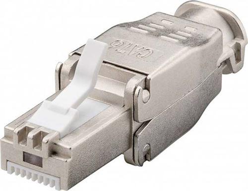 Connecteur RJ45 CAT6 STP pour câble monobrin / multibrins