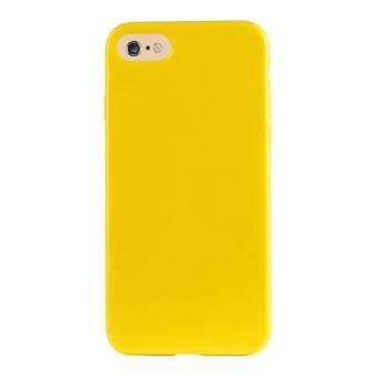 coque iphone 8 jaune moutarde