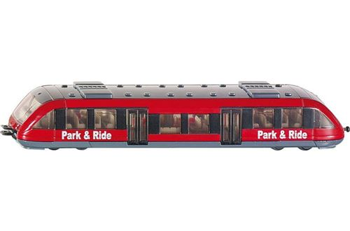 Siku Train local irlandais rouge (1646007)