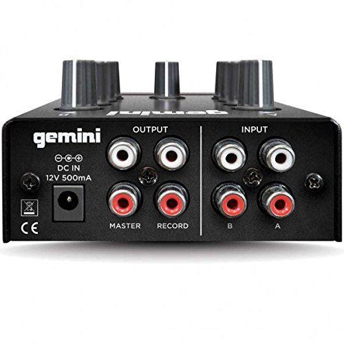 Gemini Mm 1 Compact Table De Mixage à 2 Canaux