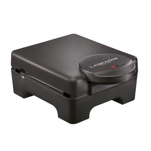 Lagrange Tarti' Gaufres - Gaufrier/machine à croque-monsieur - 1070 Watt - noir