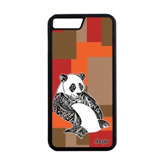 coque iphone 8 animaux geometrique