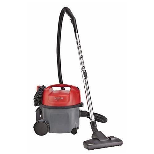 Nilfisk Thor Drum Vacuum 8L 800 W B Black, Red – vacuums (800 W, b, 32 kWh, 200 W, 220 – 240, 50/60)