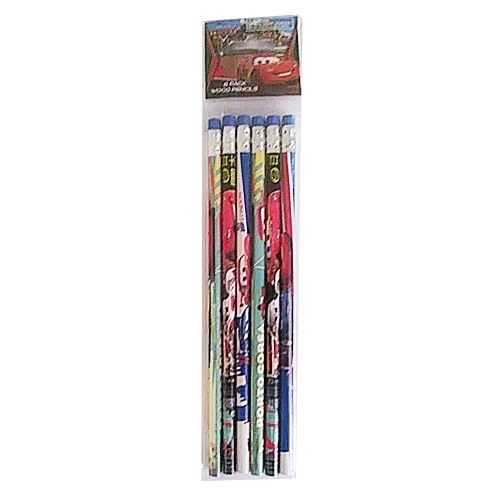 Paquet de 6 crayons en bois Disney Cars