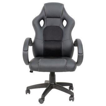 Ise chaise fauteuil si ge de bureau hauteur r glable - Fauteuil de bureau sport racing ...