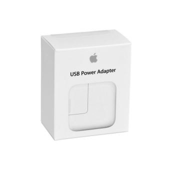 Apple Adaptateur USB 12W pour iPad - Blanc
