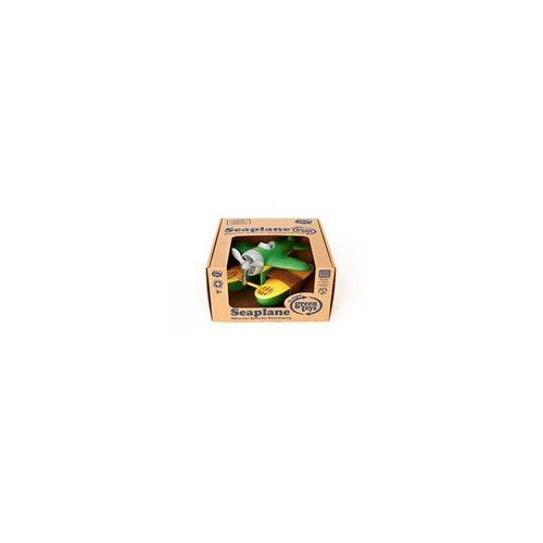 Green Toys - 66060 - Véhicule Miniature - Modèle Simple - Seaplane - Vert