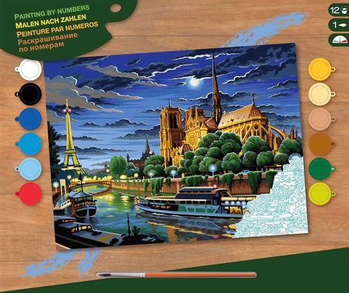 Tableau Peinture Au Numero Paris Ksg Peinture Achat Prix Fnac