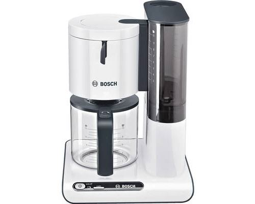 Bosch Styline TKA8011 - Cafetière - 15 tasses - blanc/anthracite