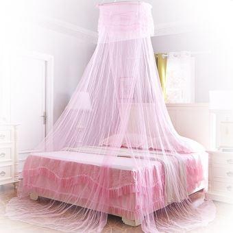 Moustiquaire ciel de lit baldaquin rose ciel de lit achat prix fnac - Ciel de lit moustiquaire ...