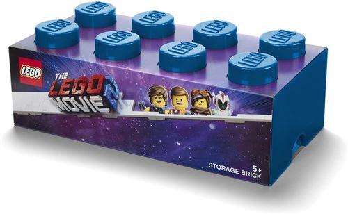 LEGO boîte de rangement The Lego Movie 8 blocs bleu 50 cm