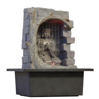fontaine zen rideau deau bouddha shizu kesa multicolore dcorations daquarium achat prix fnac - Fontaine A Eau Zen