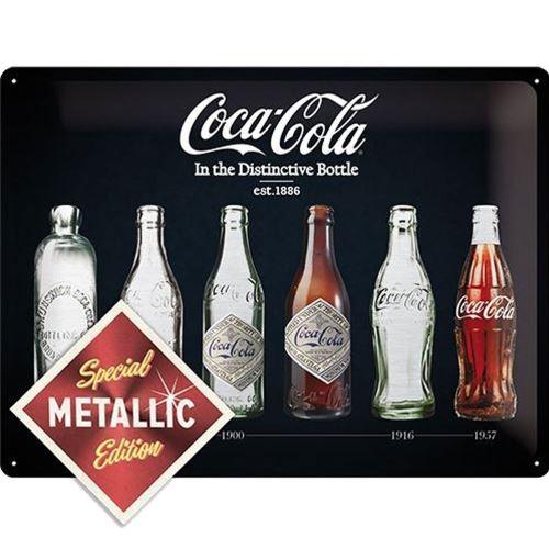 Plaque métallique Coca-Cola Edition Spéciale