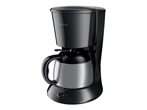 Philips Daily Collection HD7474 - Cafetière - 10 tasses - noir