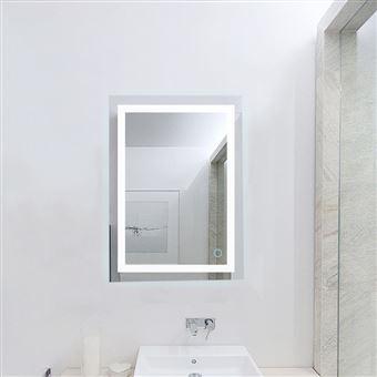 Miroir Lumineux Led Salle De Bain 22w Lampe De Miroir Eclairage