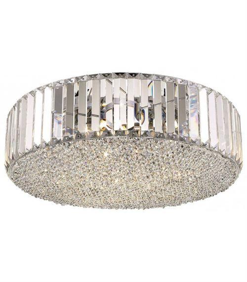 Plafonnier en cristal POOLE 5 Lumières