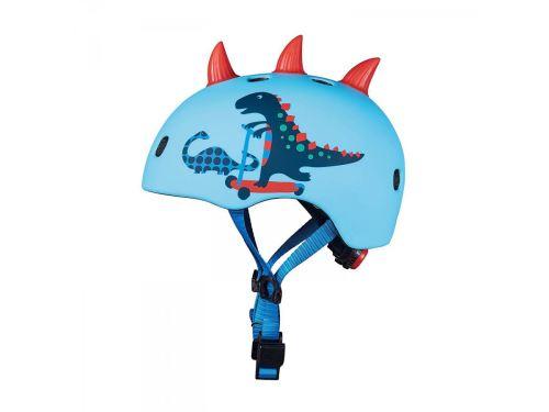 Micro - Casque Dinosaure 3D - Nouvelle gamme - boucle magnétique / lumière LED intégrée - Taille S