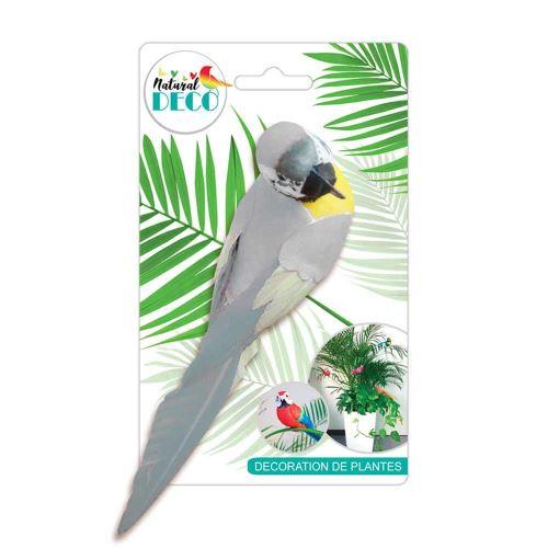 Déco Plantes – Grand Oiseau Blanc CD3824