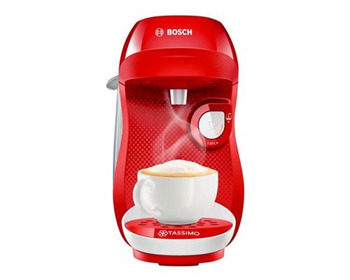 Machine à capsules bosch happy rouge, blanc tas1006