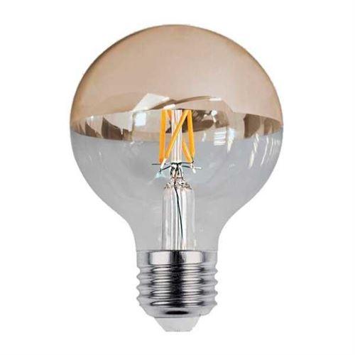 Ampoule E27 LED Filament 7W G95 Reflet Or - Blanc Chaud 2300K - 3500K - SILAMP
