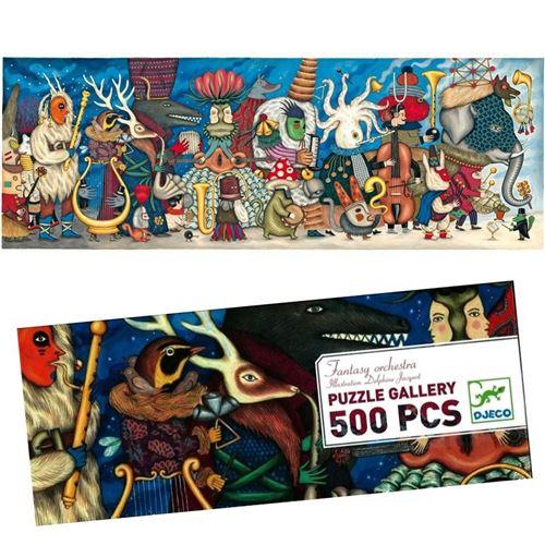 Puzzle 500 Pièces Enfants Djeco Orchestra Fantasy