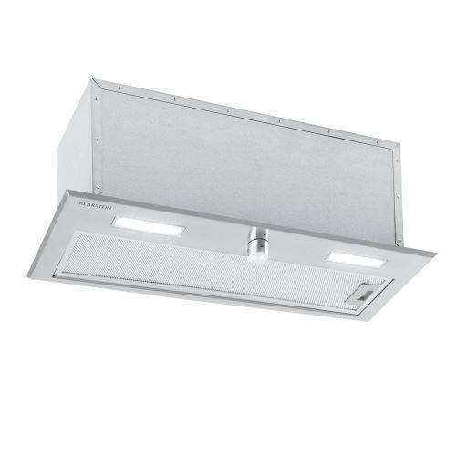 Klarstein Simplica Hotte aspirante encastrable 70 cm - Extraction 400 m³ / h - Inox argent