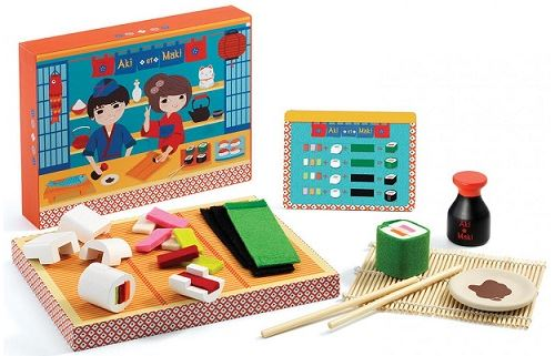 Atelier japonais aki et maki - jeu d'imitation cuisine - djeco