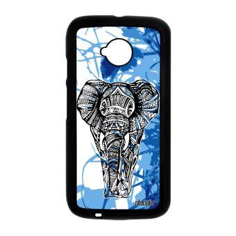 Coque Pour Moto E2 Elephant Nature D Afrique Case Dessin