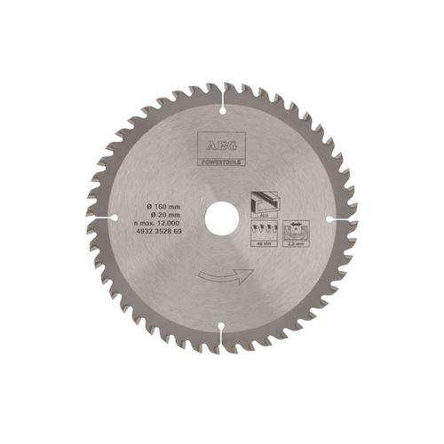 Lame scie circulaire AEG 2.2x160mm métaux 4932352869