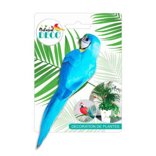 Déco Plantes – Medium Oiseau Bleu CD3825