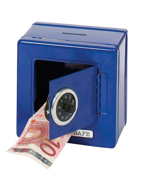 Goki Metal Box Sécurité Bleu