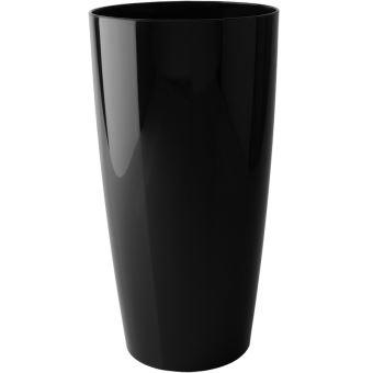 pot de fleur haut noir collection prestige en poly thyl ne. Black Bedroom Furniture Sets. Home Design Ideas
