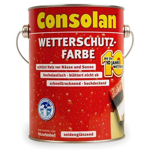 cons Protection anti-intempéries pour couleur 2,5 l, noir N ° 209
