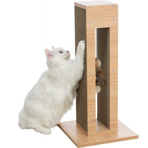 Colonne griffoir, hauteur: 62 cm. pour chat.