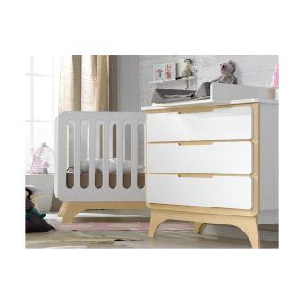 129€60 sur Petite chambre bébé Bonheur Bouleau Chambrekids Blanc ...