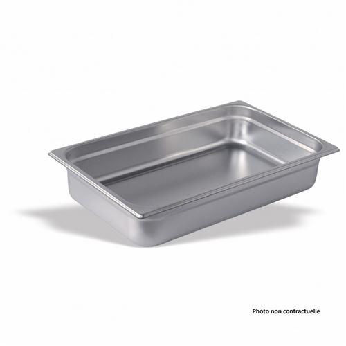 Bac Gastro Inox GN 1/1 - H 200 mm - Pujadas - Inox 2600 cl