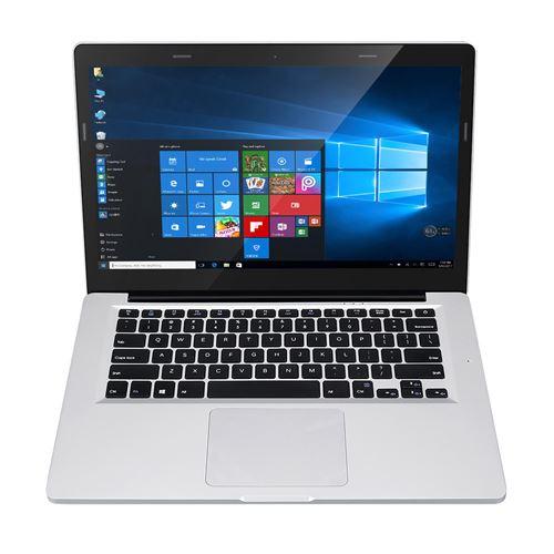 PC Portable Excelvan X8 Pro Dual WIFI USB 3.0 support Windows10 6+128Go Gris (Qwerty)
